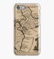 Map Of Guadeloupe 1759 iPhone Case/Skin