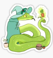 Green Tree Python - Holly Sticker