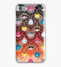Tsum Tsum Alice in Wonderland - black/red iPhone Case/Skin