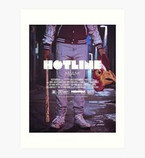 Hotline Miami: The Movie Kunstdruck