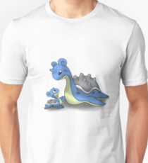 Lapras Pokemon Mother & Child Unisex T-Shirt