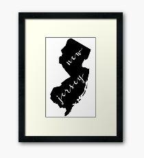 NJ Framed Print