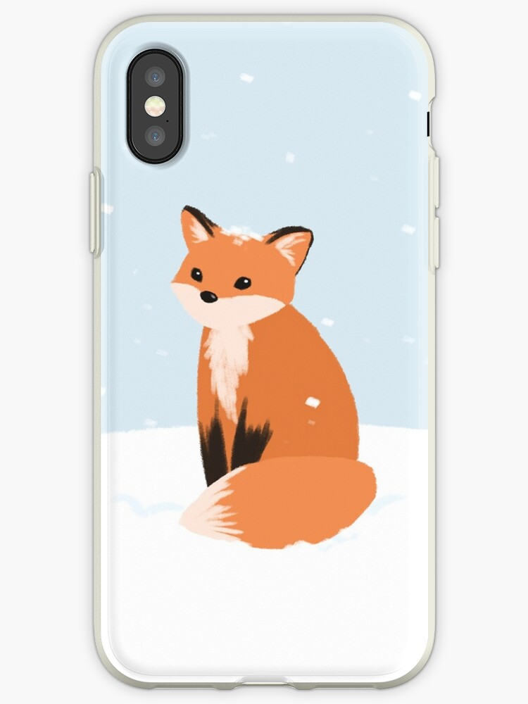 info for 95513 7d34f 'Snow Fox' iPhone Case by Maddeh