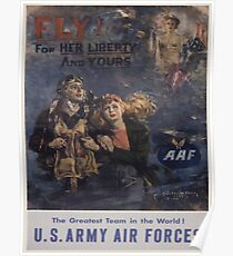 Vintage poster - Air Forces Poster