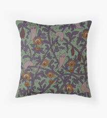 The Haunted Woods Throw Pillow