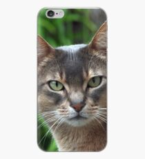 Zaki Lazuli - straight on - Blue Aby  iPhone Case