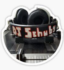 DJ Schuby Headphone Graphic Sticker