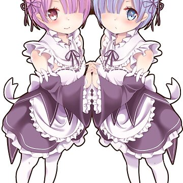 Re:ZERO Starting Life In Another World (Rem and Ram) by Manias