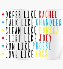Live Like Friends Poster