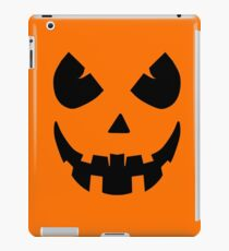 Scary Jack'O'Lantern Face iPad Case/Skin