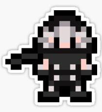 Pixel Ryu Hayabusa Sticker