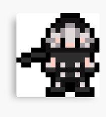 Pixel Ryu Hayabusa Canvas Print