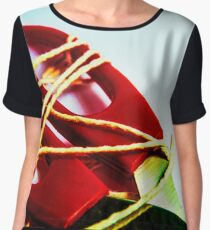 All Wrapped up Women's Chiffon Top