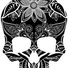 Day of the Dead Skull by ACImaging
