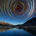 Queenstown star trails reflection by focuscreative