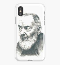 Padre Pio iPhone Case/Skin