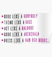 Live Like Gossip Girl Poster