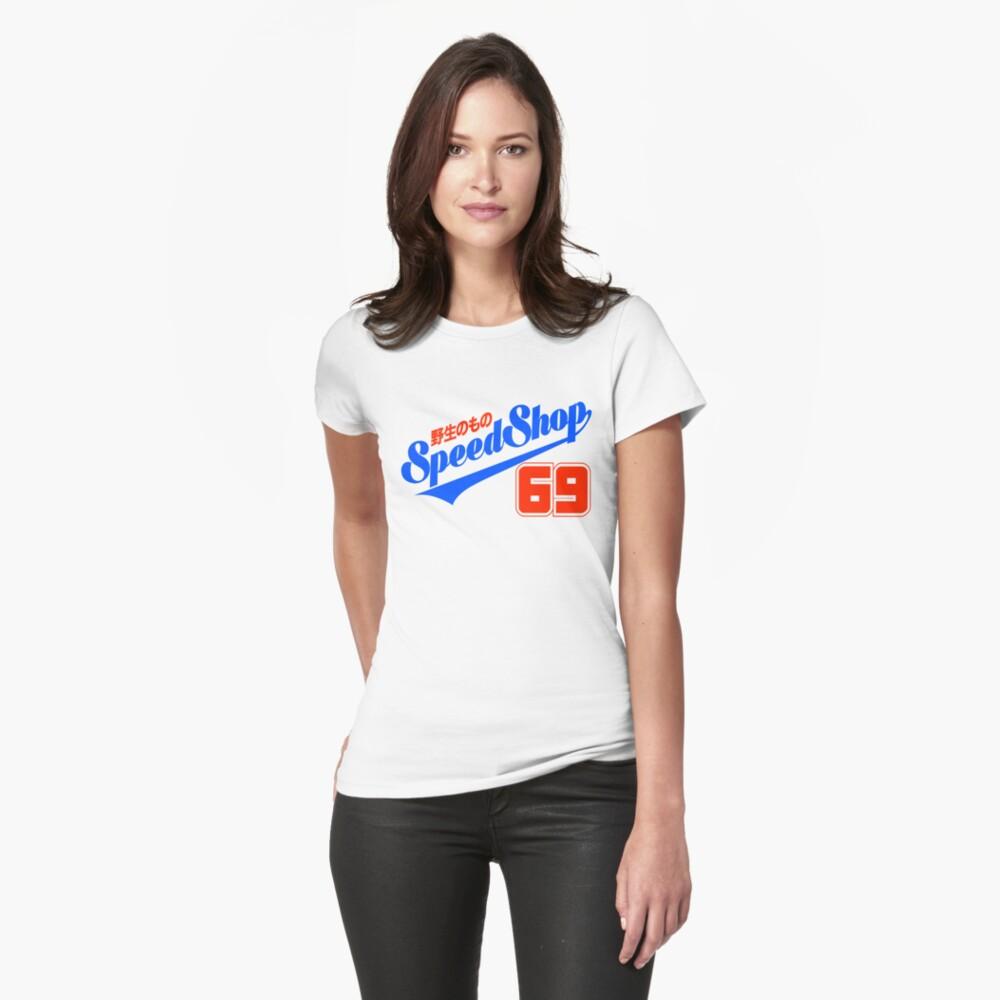 Calcomanía HM Speed Shop JP SCRIPT 69 Camiseta entallada