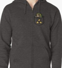 Legend of Zelda - Pocket Link Zipped Hoodie