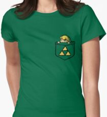 Legend of Zelda - Pocket Link Women's Fitted T-Shirt