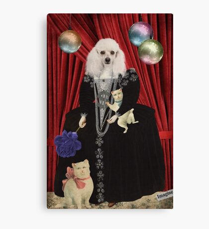 Animal Collection -- Jezebel Canvas Print