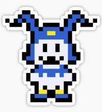 Pixel Jack Frost Sticker