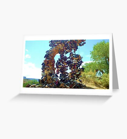 The Shoe Tree Greeting Card