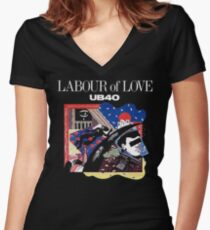 Labour Of Love UB 40 Women's Fitted V-Neck T-Shirt