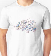 Rhyhorn Popmuerto | Pokemon & Day of The Dead Mashup T-Shirt