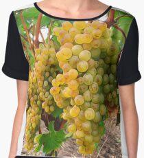 Vineyard Grapes  Women's Chiffon Top