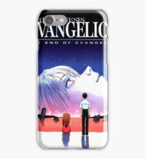 the end of evangelion iPhone Case/Skin