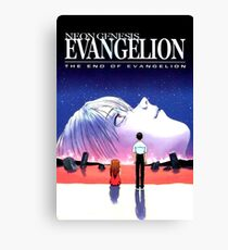 the end of evangelion Canvas Print