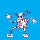 Mr. Mime Popmuerto | Pokemon & Day of The Dead Mashup by abowersock