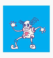 Mr. Mime Popmuerto | Pokemon & Day of The Dead Mashup Photographic Print