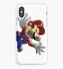Mario Screen KO! iPhone Case/Skin