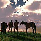 Buffalo Scouts by Walter Colvin