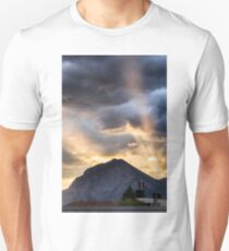 Sunset in the Mountains Unisex T-Shirt