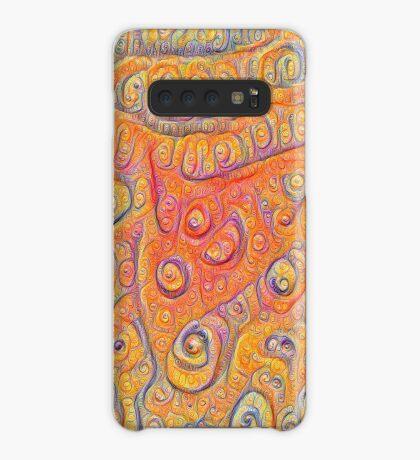 Orange #DeepDream Case/Skin for Samsung Galaxy