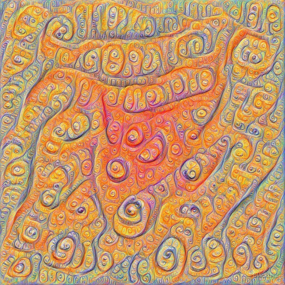 Orange #DeepDream by blackhalt