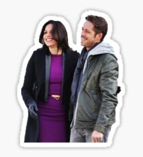 Lana Parrilla, Sean Maguire Sticker
