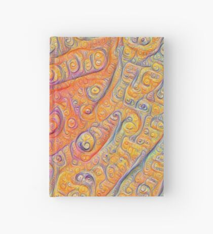 Orange #DeepDream Hardcover Journal