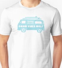 Good Vibes Only Camper Van Unisex T-Shirt