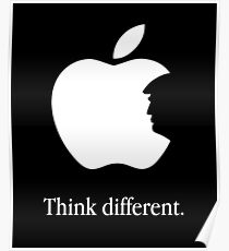 Trump Think Different Poster