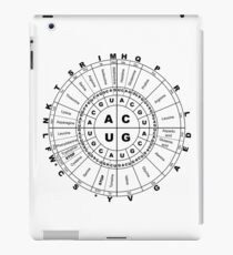 Genetic Code Information Wheel iPad Case/Skin