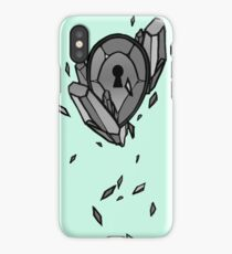 The Mint Crystal Locket iPhone Case/Skin