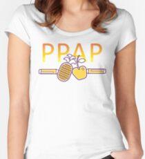 PPAP - Pen Pineapple Apple Pen Women's Fitted Scoop T-Shirt