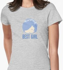 Rem Best Girl Womens Fitted T-Shirt