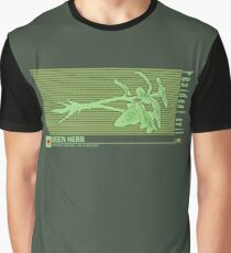 Resident Evil Green Herb Graphic T-Shirt