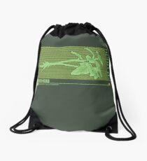 Resident Evil Green Herb Drawstring Bag