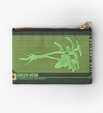 Resident Evil Green Herb Zipper Pouch